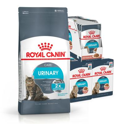 Royal Canin Bundle Urinary Care Adult Wet And Dry Cat Food