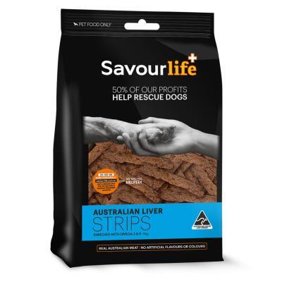 SavourLife Australian Liver Strips Treats For Dogs 165gm