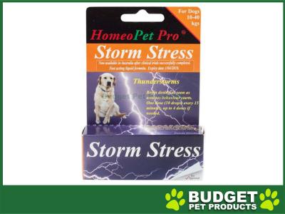 HomeoPet Storm Stress 10-40kg For Dogs 15ml