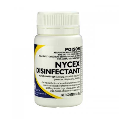 Nycex Disinfectant Powder For Cats, Dogs, Birds And Livestock 50gm