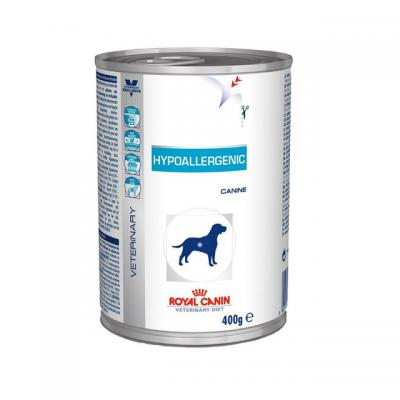 Royal Canin Veterinary Diet Canine Hypoallergenic For Dog Cans 400gm x 12 (ABK11)