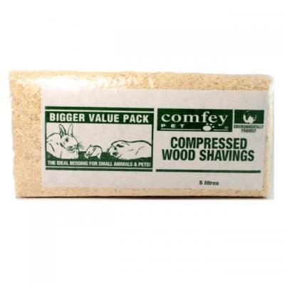Comfey Pet Wood Shavings 5 Litre
