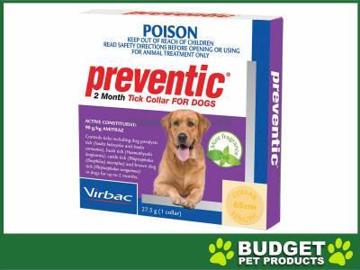 Preventic Tick Collar For Dogs X 6