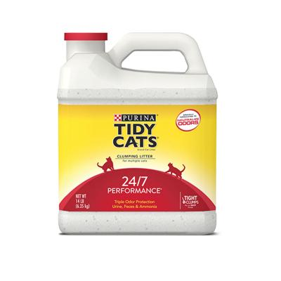 Purina Petlife Tidy Cats Clumping Clay Litter 24/7 Performance For Cats 6.35kg