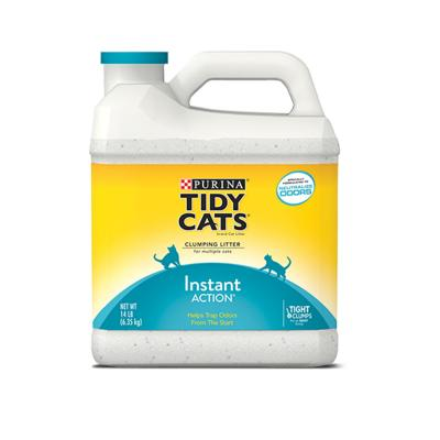 Purina Petlife Tidy Cats Clumping Clay Litter Instant Action For Cats 6.35kg