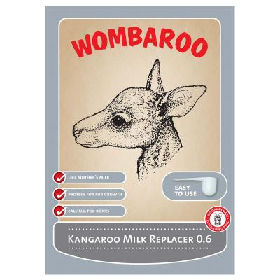 Wombaroo Kangaroo Milk Replacer  Under 0.6  220gm