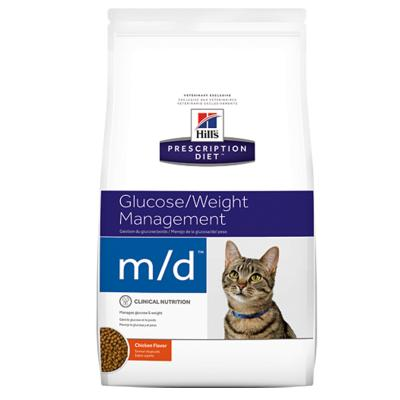 Hills Prescription Diet Feline m/d Dry Cat Food 1.8kg (4273)