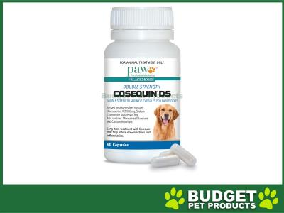 Paw Cosequin Ds For Large Dogs 60 capsules
