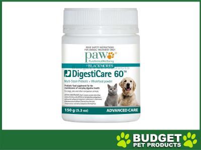 Paw DigestiCare 60 Multi-Strain Probiotic 150gm
