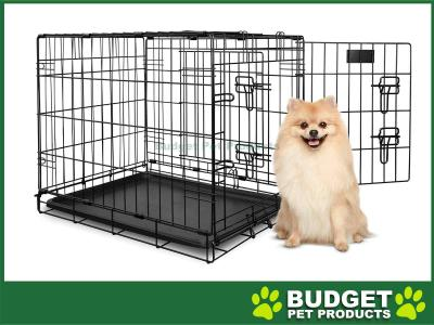 Yours Droolly Dog Crate Double Door 24inch