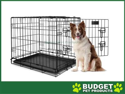 Yours Droolly Dog Crate Double Door 36inch