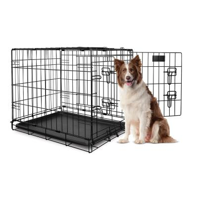 Yours Droolly Dog Crate Double Door 36 inch