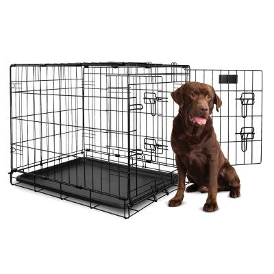 Yours Droolly Dog Crate Double Door 42 inch