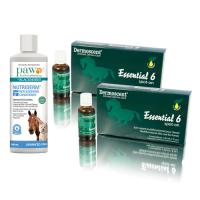 Dermoscent Essential 6 Easy Care Starter Pack Supports Itchy Skin Repair And Shiny Coats For Horses
