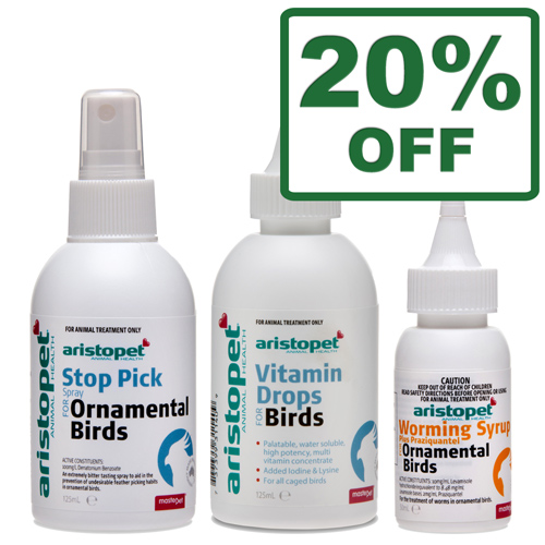 Aristopet Bird Health Range