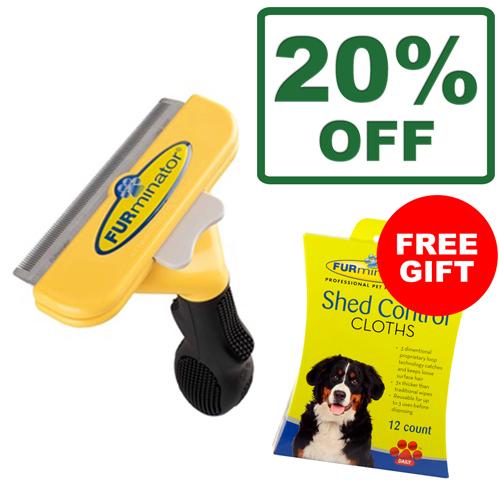 Furminator Tools - Free Shed Control Cloths
