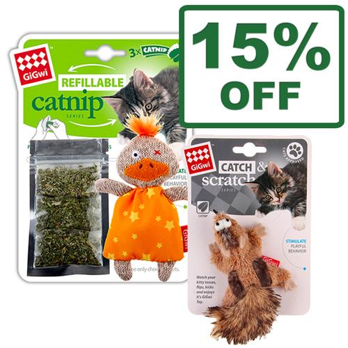 Gigwi Catnip Toys