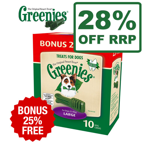 Greenies Bonus Boxes - Extra 25% Extra Free