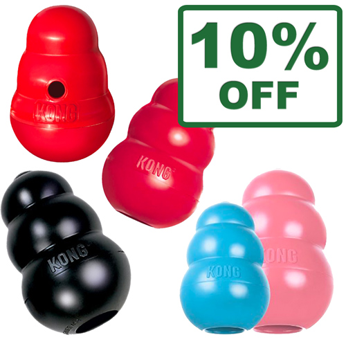 Kong Toys Classic, Extreme, Wobbler & Puppy Classics