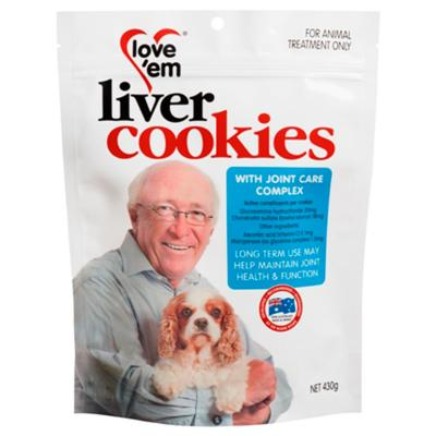 Love em Cookies With Joint Care Complex Treats For Dogs 430gm