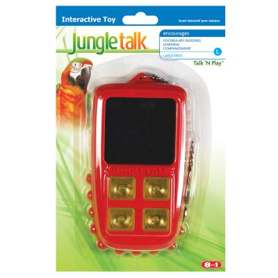 Jungle Talk Talk N Play Interactive Noise Toy Large For Birds