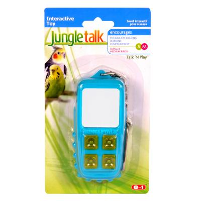 Jungle Talk Talk N Play Interactive Noise Toy Medium For Birds
