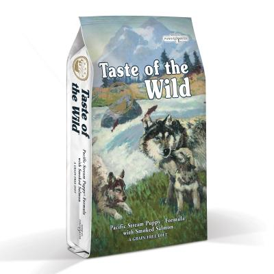 Taste of the Wild Grain Free Pacific Stream Smoked Salmon Puppy Dry Dog Food 13kg