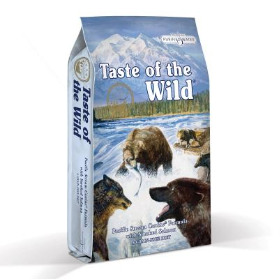 Taste of the Wild Grain Free Pacific Stream Smoked Salmon Adult Dry Dog Food 2kg