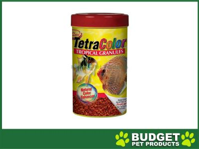 TetraColour Tropical Granule Food For Fish 300gm