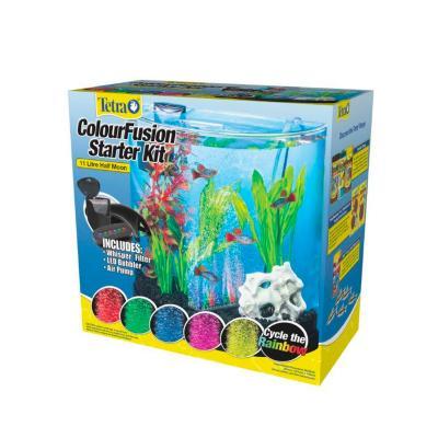 Tetra ColourFusion Freshwater Tank Aquarium Starter Kit 11 Litre