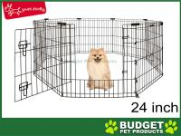 Yours Droolly Puppy And Dog Exercise Pen With Door 24in 60cm