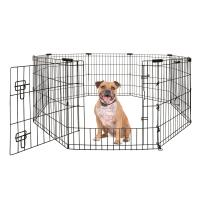 Yours Droolly Puppy And Dog Exercise Pen With Door 30in 75cm