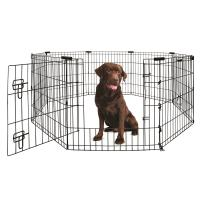 Yours Droolly Puppy And Dog Exercise Pen With Door 42in 105cm