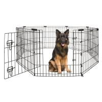 Yours Droolly Puppy And Dog Exercise Pen With Door 48in 120cm
