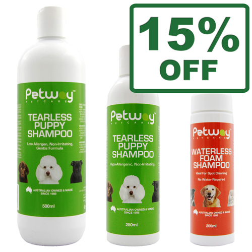 Petway Waterless Foam & Tearless Shampoo
