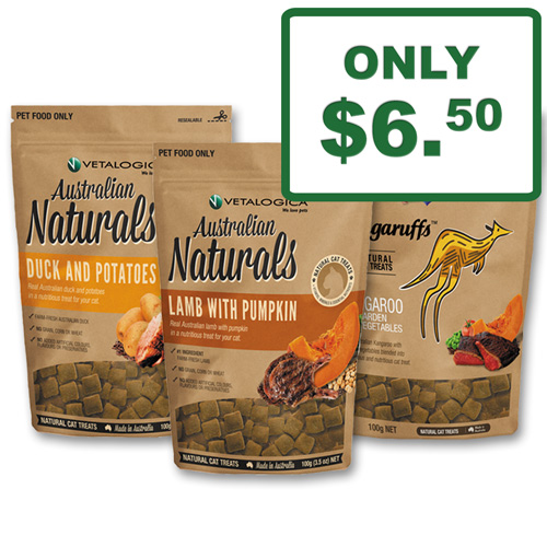 Vetalogica Mighty Raw & Kangaruffs Grain Free Treats