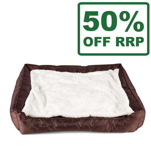 Vitapet Fleece Reversible Cushion Bed For Dogs