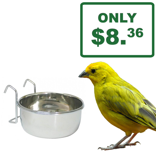 Birdlife Stainless Steel Coop Cup