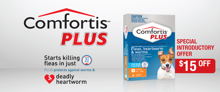 Comfortis Plus $15 Off