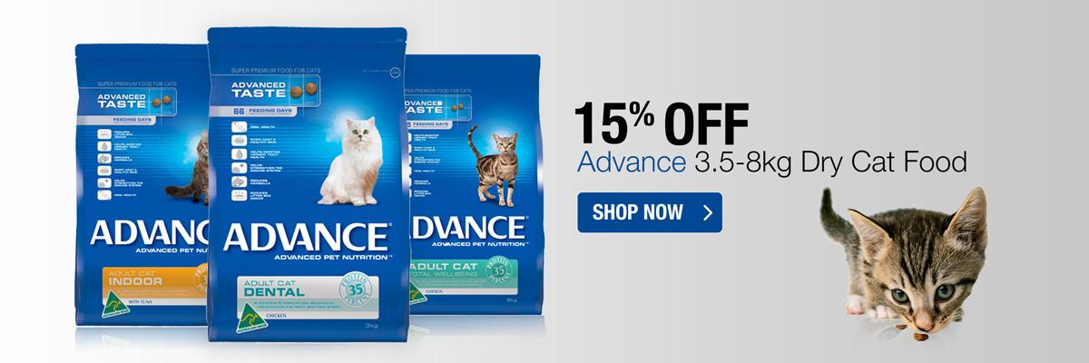 Advance Feline Dry 3-8kg 15% Off