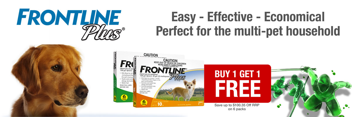 Frontline Plus 6 Pack 20% Off February 2017