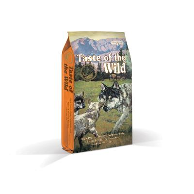 Taste of the Wild Grain Free High Prairie Roasted Bison And Venison Puppy Dry Dog Food 13kg