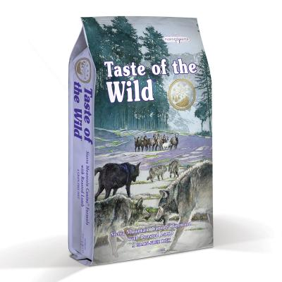 Taste of the Wild Grain Free Sierra Mountain Roasted Lamb Puppy And Adult Dry Dog Food 13kg