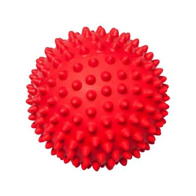 Aussie Dog Mitch Ball Hard Red Tough Toy For Dogs