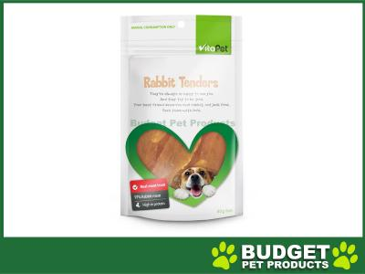 VitaPet Rabbit Tenders Treats For Dogs 80gm