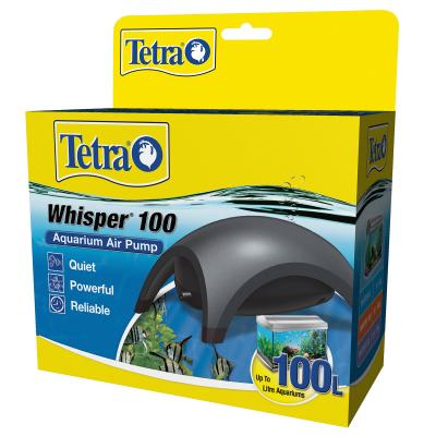 Tetra Whisper 100 Air Pump For Fish Tanks And Aquariums Up To 100L