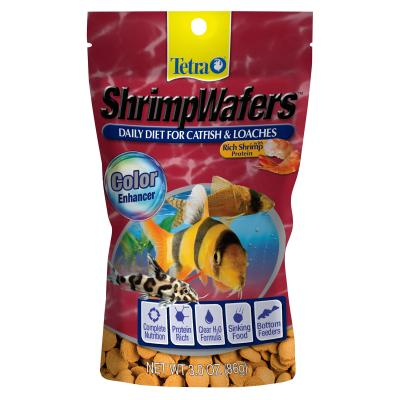 Tetra ShrimpWafers Food For Fish 86g