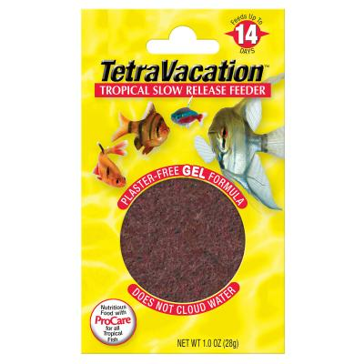 TetraVacation Tropical Slow-Release 14 Day Feeder Food For Fish