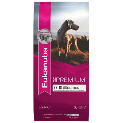 Eukanuba Premium Condition Adult Dry Dog Food 15kg