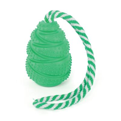 Kazoo Tuff Woogie Treat And Throw Dental Toy Large For Dogs